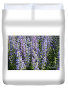 Meadow Sage Flowers Duvet Cover