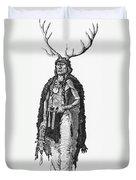 Medicine Elk Duvet Cover