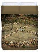 Medicine Wheel, Sedona, Arizona Duvet Cover