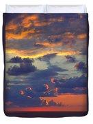 Mediterranean Sky Duvet Cover