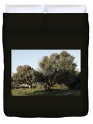 Mediterranean Wood Wiew Duvet Cover