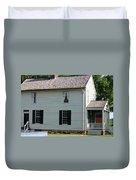 Meeks Store Appomattox Court House Virginia Duvet Cover