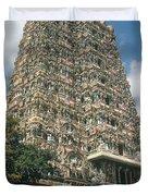 Meenakshi Temple Duvet Cover
