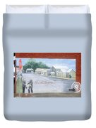 Meeting At Fort Meade Duvet Cover