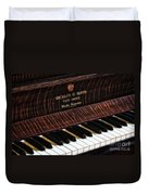 Mehlin And Sons Piano Duvet Cover