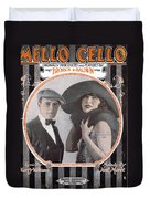 Mello Cello Duvet Cover