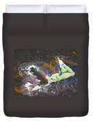 Melted Pin Up Girl Duvet Cover