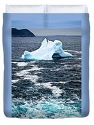 Melting Iceberg Duvet Cover