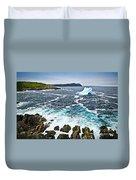 Melting Iceberg In Newfoundland Duvet Cover