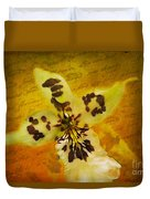 Memories Of An  Orchid Duvet Cover