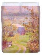 Memories Of The Farm Duvet Cover