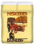 Mercedes Daimler Duvet Cover