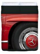 Mercedes Wheel Duvet Cover