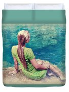 Mermaid Duvet Cover
