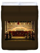 Merriam Theater Duvet Cover