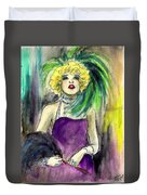 Merry Widow Duvet Cover