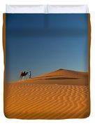 Merzouga, Morocco Duvet Cover