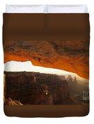 Mesa Arch First Light Duvet Cover