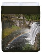 Mesa Falls II Duvet Cover by Robert Bales