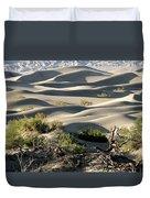 Mesquite Sand Dunes Duvet Cover