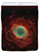 Messier 57, The Ring Nebula Duvet Cover