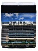 Metlife Stadium Duvet Cover