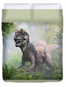 Metriacanthosaurus Duvet Cover