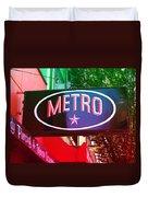 Metro Star Duvet Cover
