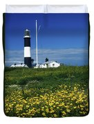 Mew Island, County Down, Ireland Duvet Cover