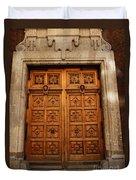 Mexican Door 10 Duvet Cover