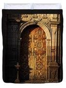 Mexican Door 31 Duvet Cover