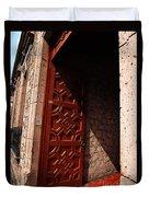 Mexican Door 49 Duvet Cover