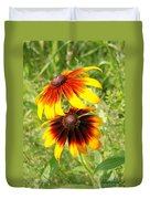 Mexican Sunflowers 2 Duvet Cover