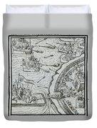 Mexico - Spanish Conquest Duvet Cover