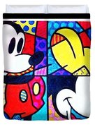Mickey Colors Duvet Cover