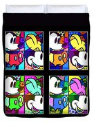Mickey In Colors Duvet Cover
