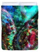Microscope Dreaming 2 Duvet Cover