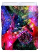 Microscope Dreaming 4 Duvet Cover