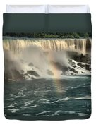 Middle America Rainbow Duvet Cover