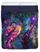 Midnight Kiss  Duvet Cover