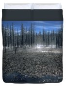 Midway Geyser Area Duvet Cover