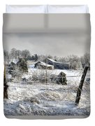 Midwestern Ice Storm - D004825 Duvet Cover