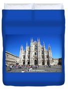 Milan Duomo Cathedral Duvet Cover