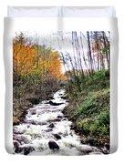 Mile Long Rapids Duvet Cover