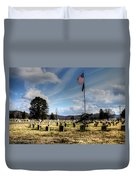 Military Honors Duvet Cover