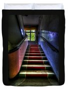 Military Steps Duvet Cover by Nathan Wright