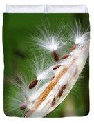 Milkweed Whisper Duvet Cover