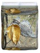 Milkweed Pods - Mirror Box Duvet Cover
