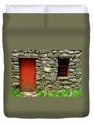 Mill Door And Window Duvet Cover