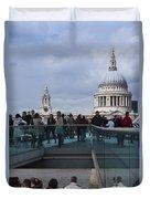Millennium Footbridge Duvet Cover